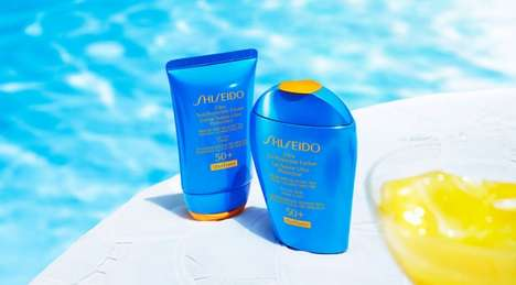 Water-Boosting Sunscreens - This Sunscreen Delivers Greater UV Protection When Wet