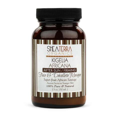 Firming After-Sun Creams - This After-Sun Skincare Solution is Enhanced by African Sausage Fruit