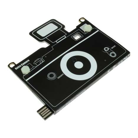 Paper-Thin Digital Cameras - This Ultra-Thin Camera is No Thicker Than a Piece of Paper