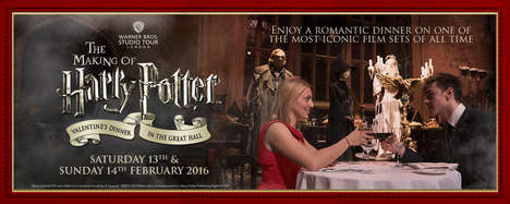 Wizardly Valentine's Day Diners - This Promotion Involves Dining in the Great Hall of Hogwarts