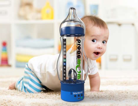 Smart Heating Baby Bottles - The 'proacmOm' New Baby Bottle Enables Custom One-Touch Heating