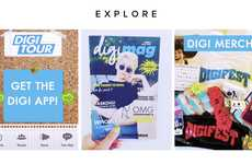 Teen Festival Communities - The DigiTour Fan Club Shares Social Media and Music Festival Updates