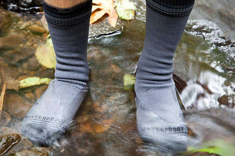 Water-Proof Athletic Socks - These Performance Socks Feature a Moisture-Wicking Lining