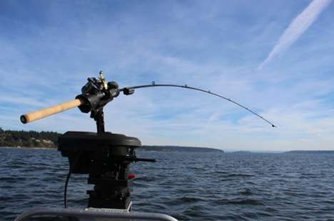 Connected Fishing Rods - 'FishSentry' Fishing Rods Let Users Know When There's a Bite