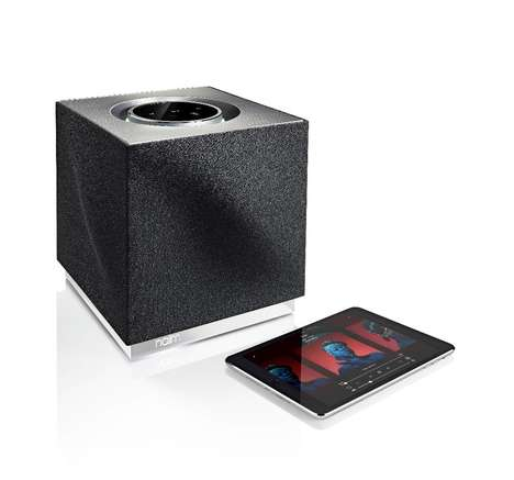 Touchscreen Cube Speakers - The Naim 'Mu-so Qb' Wireless Music System Promises Distortion-Free Tunes
