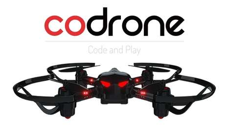 Customized Programmable Drones - The 'CoDrone' Programmable Drone Hit Kickstarter After CES 2016