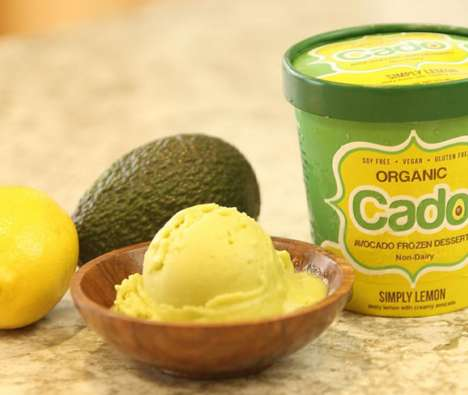 Avocado-Based Ice Cream - 'Cado' Makes Dairy-Free Cold-Pressed Avocado Ice Cream