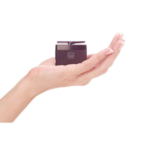 Folding Micro Fans - The 'Go' Personal Mini Fan is Designed to be Portable and Refreshing