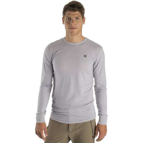 Merino Wool Hiking Shirts - This Long-Sleeved Merino Shirt from MEC is Perfect for Layering