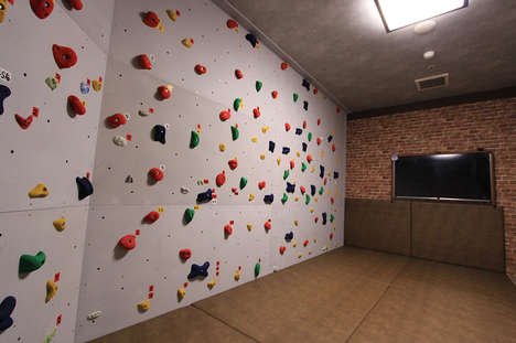 Active Karaoke Experiences - This Japanese Karaoke Space Also Features a Bouldering Wall
