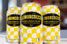Coconut-Infused Lemonades