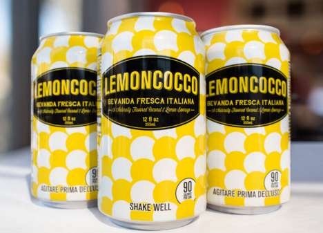 Coconut-Infused Lemonades - This Blended Lemonade is Inspired by Italy's Refreshment Stands