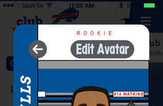 Animated Sports Fan Apps - Club Buffalo Bills is a Dedicated Sports Fan Club for Kids