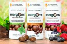 Energy-Boosting Chocolates - These Chocolate Energy Supplements Provide a Tasty Way to Refuel