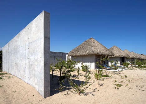 Coastal Mexican Retreats - This Expansive Concrete Home Faces the South Pacific Ocean