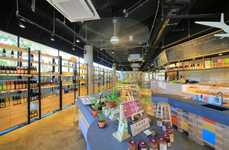 Organic Supermarket Interiors - 'The Green Atrium' Embodies the Kind of Lifestyle It Promotes