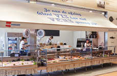 Upscale Indoor Food Markets - DekaMarkt's 'World of Food' is a Sophisticated Grocery Store Market