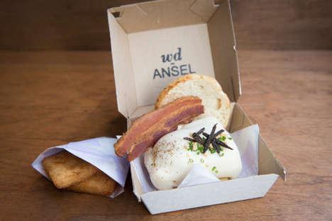 Gourmet Breakfast Sandwiches - This Decadent Breakfast Sandwich Features High-End Ingredients