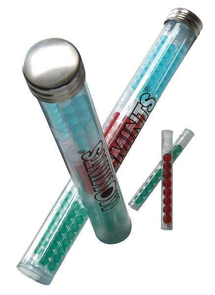 Liquid Mint Dispensers - Momints' Mint Tube Packaging Securely Transports Gel-Filled Liquid Capsules