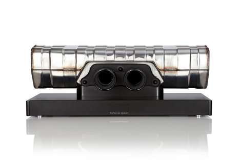 Automotive Sound Bars - Porsche Design Has Turned a 911 GT3 Porsche Exhaust Into a Luxe Sound Bar