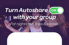 Temporary Photo-Sharing Apps - The Upshot App Allows Users to Share Photos from Different Events