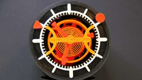 3D-Printed Tourbillon Timepieces - This 3D-Printed Tourbillon Watch is a Modern Marvel