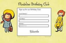 Literary Birthday Memberships