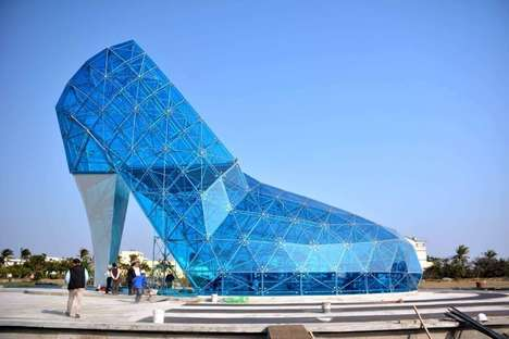 Shoe-Shaped Churches - This Taiwanese Church is Shaped Like a High Heeled Shoe