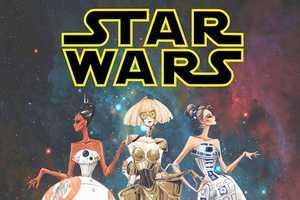 Artist Guillermo Meraz Imagines Star Wars Costumes as High Fashion