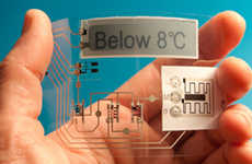 Temperature-Sensing Labels
