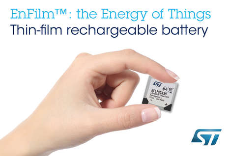 Paper-Thin Batteries - The 'EnFilm' Thin Battery is Designed for the IOT Product Market