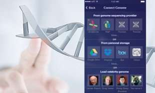 Customized Genetic News Apps - The Genome Compass App Offers Relevant Gene Sequencing Information