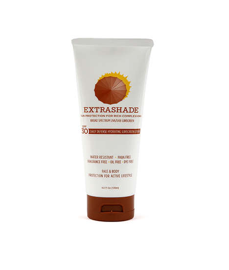 Multicultural Sunscreen Lotions - Extrashade's Sun Care is Tailored to Those with Melanin-Rich Skin