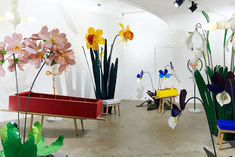 Whimsical Funeral Installations - These Designers Have Reimagined the Standard Funeral Set Up