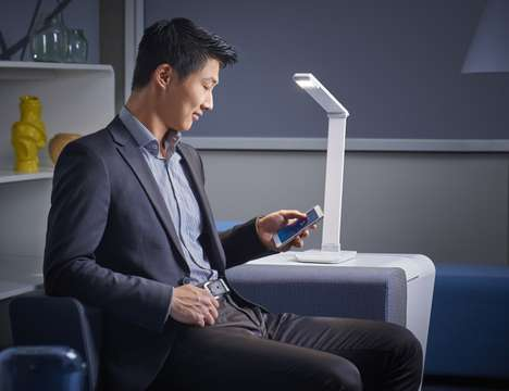 Healthy Connected Lamps - The Philips x Xiaomi EyeCare Connected Lamp Reduces Eye Strain