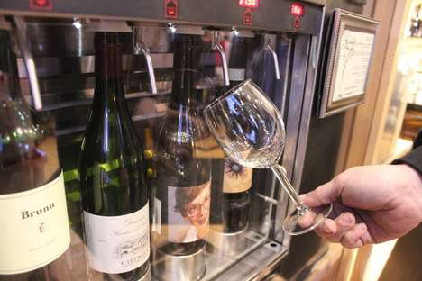 Wine Vending Machines - Paired Wine's Enomatic Machines Enhance the Tasting Experience