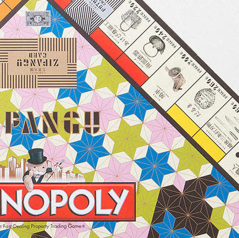 Traditional Craft Board Games - This Exclusive Japanese Version of Monopoly Honors the Arts