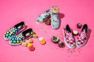 These Vans Shoe Line Feature Designs Inspired by Candy and Sweets