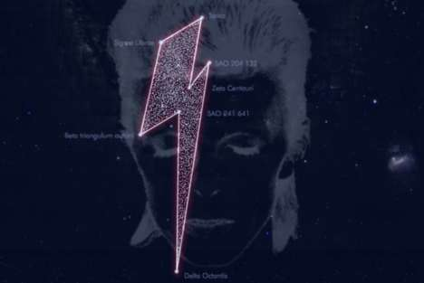 Commemorating Rockstar Constellations - MIRA Public Observatory Gives David Bowie a Star Tribute