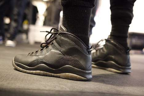 Sophisticated Rapper Sneakers - The Air Jordan 10 OVO Shoes Were Designed by Singer Drake