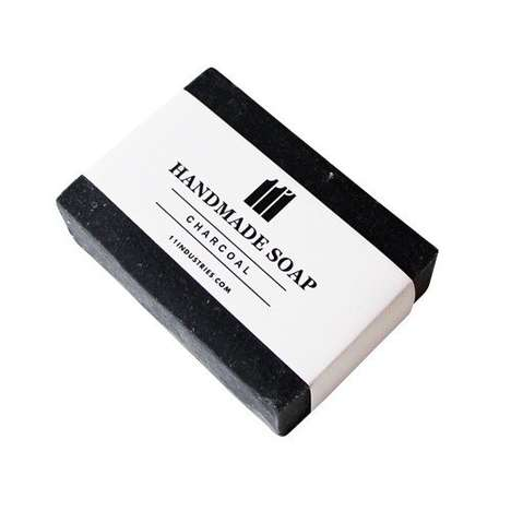 Charcoaled Skincare Soaps - The Handmade Charcoal Bar Face Wash Naturally Removes Impurities