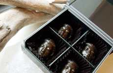 Hemp-Infused Sacred Chocolates - The Amasuni Butsuda is a Cannabis Dessert Shaped Like Buddha