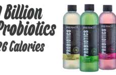 Dairy-Free Probiotic Drinks - This Juice Provides a Lactose-Free Way of Consuming Probiotics
