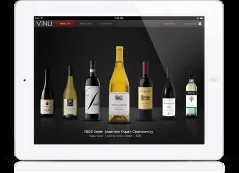 Interactive Wine Lists - VINU's Wine Guru Platform Can be Used by Upscale and Casual Eateries
