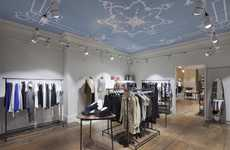 Georgian-Inspired Retail Concepts - This Guildford Boutique Boasts an Airy New Interior Design
