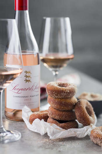 Pastry Wine Pairings - The Leopard's Leap Tasting Room Offers Donut and Wine Pairings