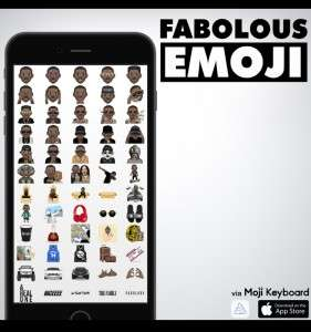 Rap Star Emojis - 'YoungEmOGis' are a Collection of Emoticons by Rapper Fabolous