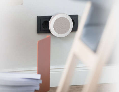 Discreet Air Quality Monitors - The 'Beeb' Air Quality Sensor Uses LEDs to Alert Users of Problems