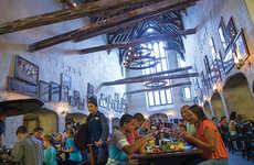 Wizardly Restaurant Experiences - Universal Studios' The Leaky Cauldron Pays Homage to Harry Potter