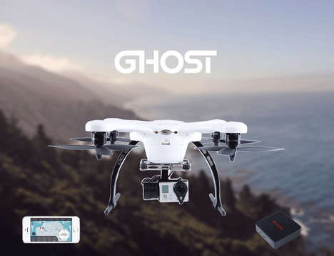 VR Drone Cameras - The EHANG 'GHOSTDRONE 2.0' Drone Allows for Immersive Flying Experiences